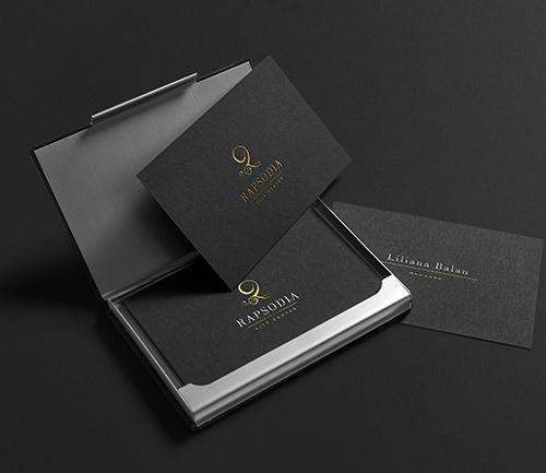 Rapsodia City Center - webdesign, branding si identitate vizuala